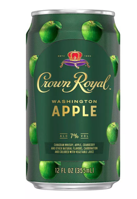 Buy Crown Royal Washington Apple Whisky Can Cocktail online at sudsandspirits.com and have it shipped to your door nationwide.