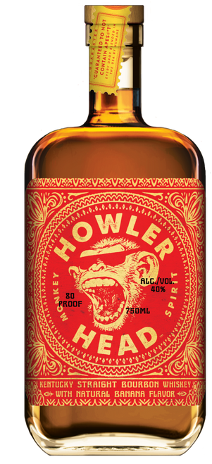 Buy Howler Head Kentucky Straight Banana Bourbon Whiskey online at sudsandspirits.com and have it shipped to your door nationwide.