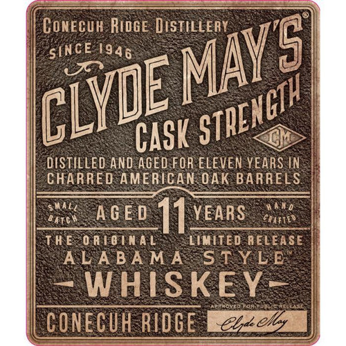 Clyde May's Cask Strength 11 Year Old