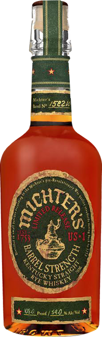 Buy Michter's US1 Barrel Strength Rye 2021 Limited Release online at sudsandspirits.com and have it shipped to your door nationwide.
