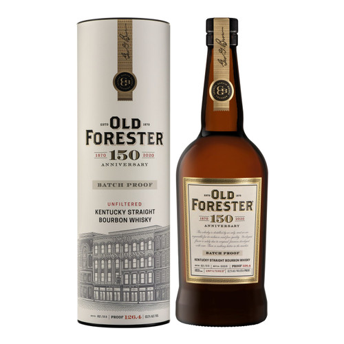Buy Old Forester 150th Anniversary Batch Proof 02/03 online at sudsandspirits.com and have it shipped to your door nationwide.