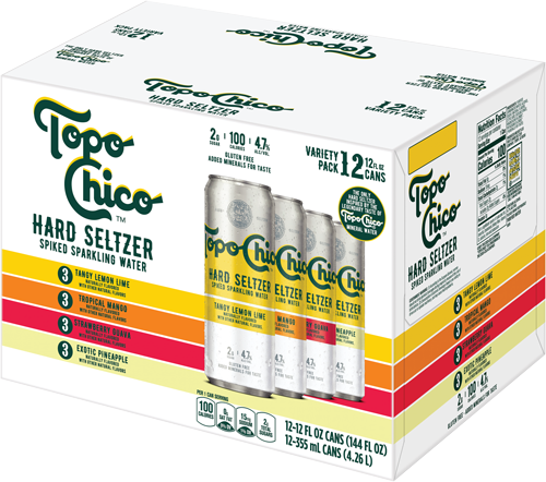 Buy Topo Chico Hard Seltzer Variety Pack online at sudsandspirits.com and have it shipped to your door nationwide.