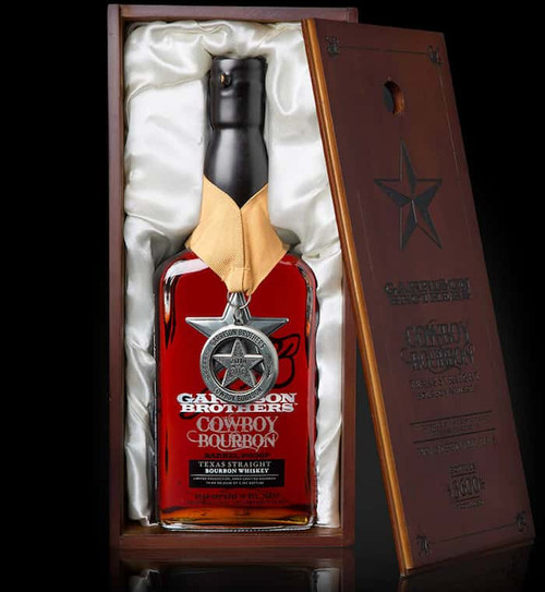 Buy Garrison Brothers Cowboy Bourbon online at sudsandspirits.com and have it shipped to your door nationwide.