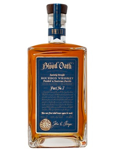Buy Blood Oath Bourbon Pact 7 online at sudsandspirits.com and have it shipped to your door nationwide.