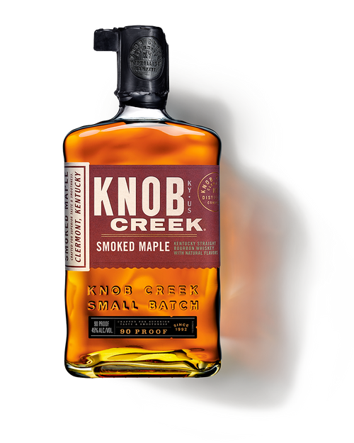 Buy Knob Creek Smoked Maple Bourbon online at sudsandspirits.com and have it shipped to your door nationwide.