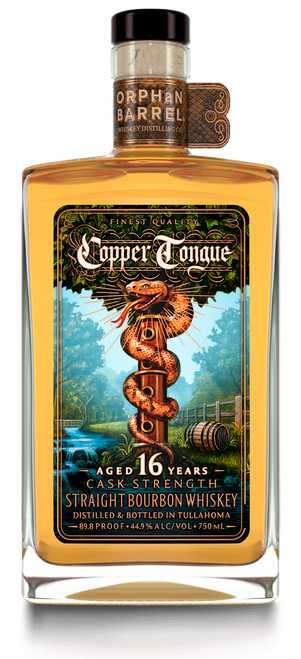 Buy Orphan Barrel Copper Tongue 16 Year Cask Strength Bourbon online at sudsandspirits.com and have it shipped to your door nationwide.