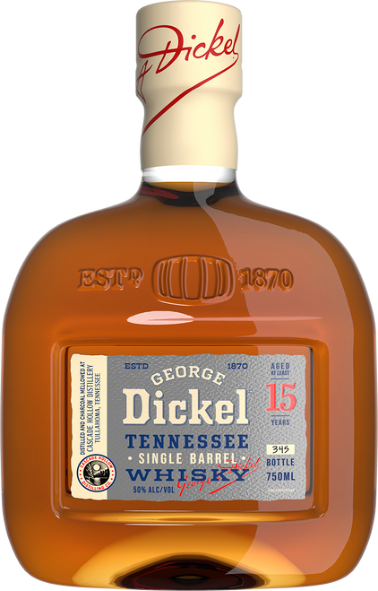 Buy George Dickel Single Barrel 15 Year Old Whisky online at sudsandspirits.com and have it shipped to your door nationwide.