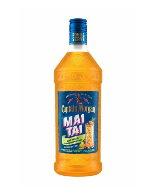 Buy Captain Morgan Mai Tai RTD Cocktail (1.75ml) online at sudsandspirits.com and have it shipped to your door nationwide.