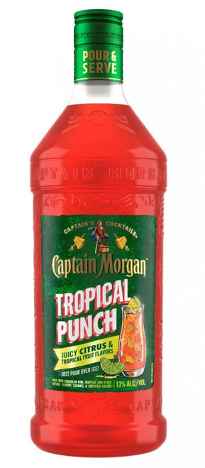 Buy Captain Morgan Tropical Punch RTD Cocktail (1.75ml) online at sudsandspirits.com and have it shipped to your door nationwide.