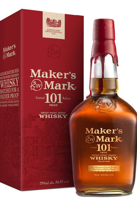 Buy Makers Mark 101 (750ml) online at sudsandspirits.com and have it shipped to your door nationwide.