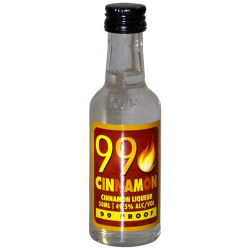 Buy 99 Cinnamon Liqueur (50ml) online at sudsandspirits.com and have it shipped to your door nationwide.