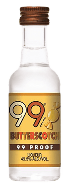 Buy 99 Butterscotch Liqueur (50ml) online at sudsandspirits.com and have it shipped to your door nationwide.