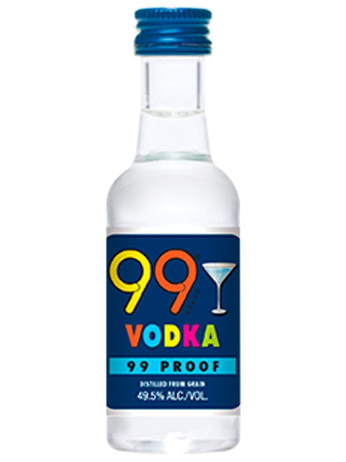 Buy 99 Vodka (50ml) online at sudsandspirits.com and have it shipped to your door nationwide.