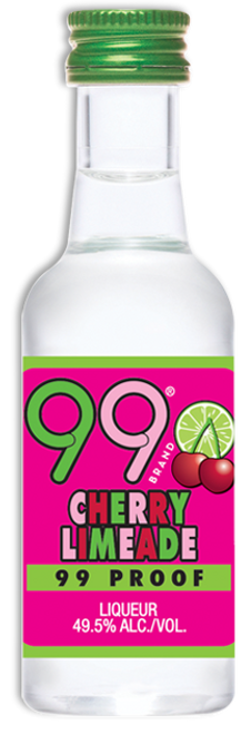 Buy 99 Cherry Limeade Liqueur (50ml) online at sudsandspirits.com and have it shipped to your door nationwide.