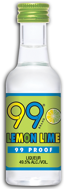 Buy 99 Lemon Lime Liqueur (50ml) online at sudsandspirits.com and have it shipped to your door nationwide.