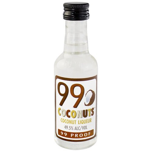 Buy 99 Coconuts Liqueur (50ml) online at sudsandspirits.com and have it shipped to your door nationwide.