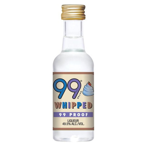 Buy 99 Whipped Liqueur (50ml) online at sudsandspirits.com and have it shipped to your door nationwide.