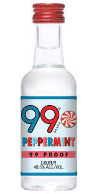 Buy 99 Peppermint Liqueur (50ml) online at sudsandspirits.com and have it shipped to your door nationwide.