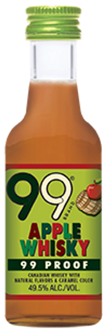 Buy 99 Apple Whisky Liqueur (50ml) online at sudsandspirits.com and have it shipped to your door nationwide.