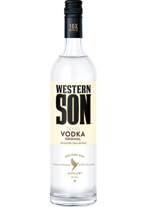 Buy Western Son Vodka (750ml) online at sudsandspirits.com and have it shipped to your door nationwide.