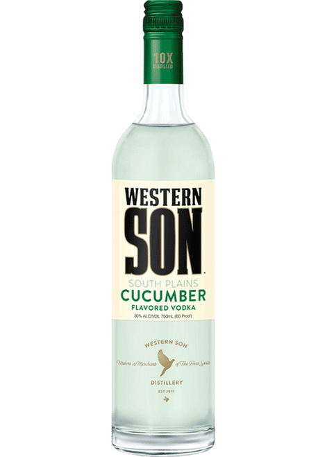 Buy Western Son Cucumber Vodka (750ml) online at sudsandspirits.com and have it shipped to your door nationwide.