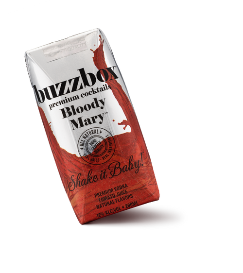Buy BuzzBox Premium Cocktails Bloody Mary 4-Pack online at sudsandspirits.com and have it shipped to your door nationwide.
