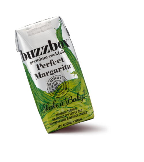 Buy BuzzBox Premium Cocktails Perfect Margarita 4-Pack online at sudsandspirits.com and have it shipped to your door nationwide.
