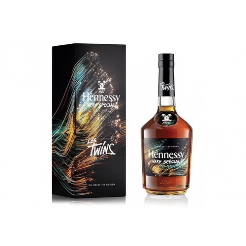 """Buy Hennessy V.S x Les Twins """"LIL BEAST"""" online at sudsandspirits.com and have it shipped to your door nationwide."""