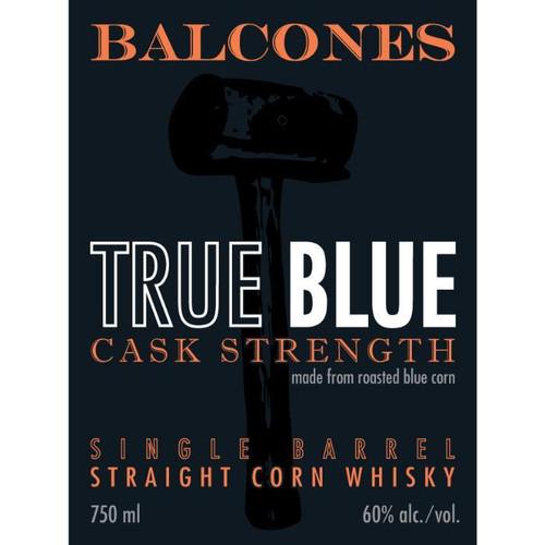 Balcones True Blue Cask Strength Single Barrel
