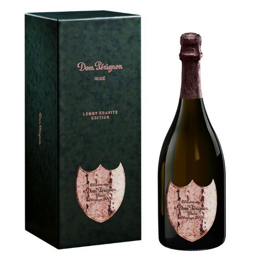 Shop Dom Pérignon ROSÉ 2006 - THE LIMITED EDITION DESIGN BY LENNY KRAVITZ at sudsandspirits.com