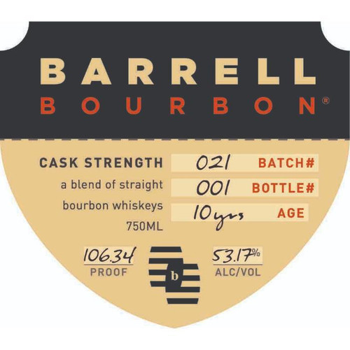 Barrell Bourbon Batch 21