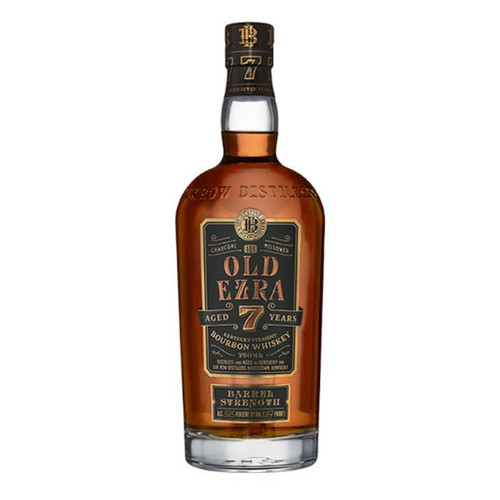 Old Ezra 7 Year Old Barrel Strength Straight Bourbon Whiskey