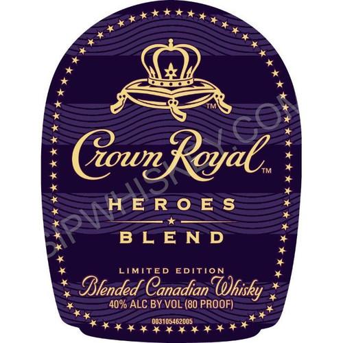 Crown Royal Heroes Blend