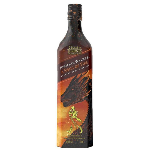 Johnnie Walker a Song of Fire Scotch Whisky