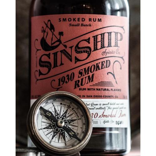 SinShip 1930 Smoked Rum