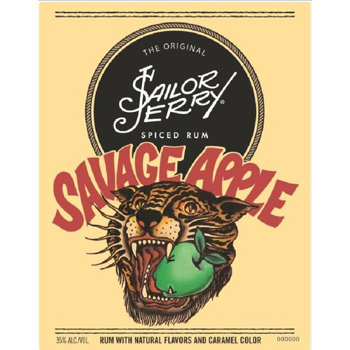 Sailor Jerry Savage Apple Spiced Rum