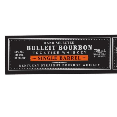 Bulleit Single Barrel Bourbon
