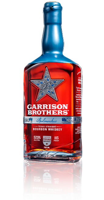 Buy Garrison Brothers Distillery Balmorhea twice barreled bourbon whiskey online at sudsandspirits.com and have it shipped to your door nationwide.