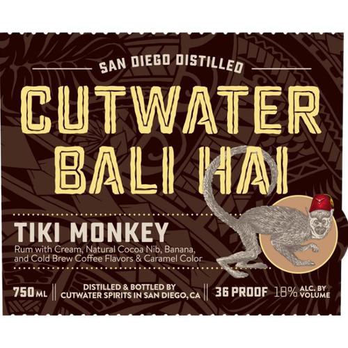 Cutwater Spirits Bali Hai Tiki Monkey