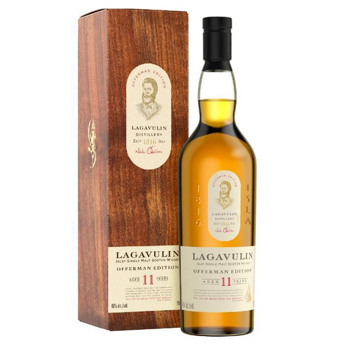 Buy Lagavulin Offerman Edition 11 Year Old Islay Single Malt online at sudsandspirits.com