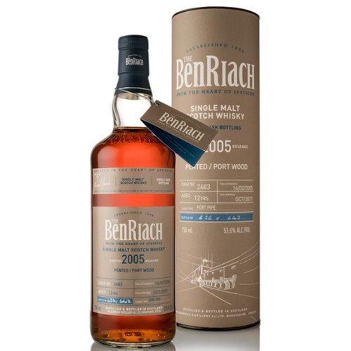BenRiach 12 Year Old Peated Port Wood Finish Single Cask #2683