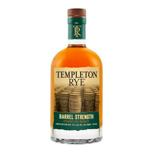 Templeton Rye Barrel Strength