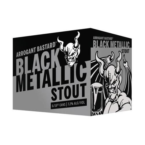 Arrogant Bastard Black Metallic Stout