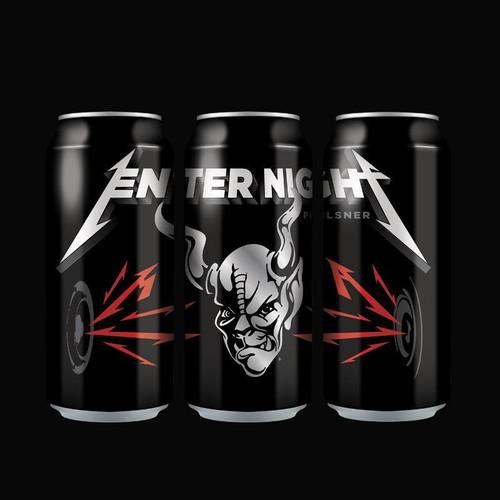 Stone Brewing Enter Night Pilsner By Metallica