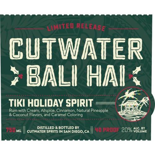 Bali Hai Tiki Holiday Spirit