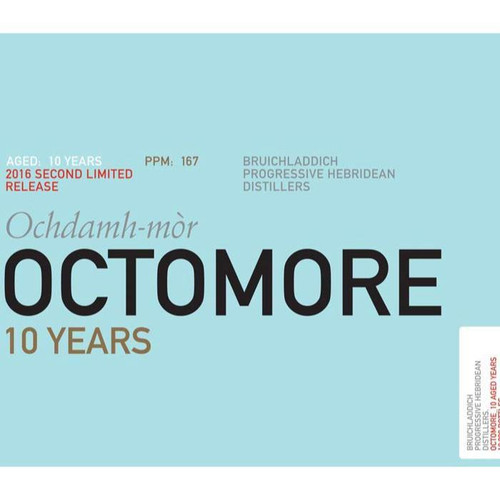 Octomore 10 Years 2016 Second Limited Release