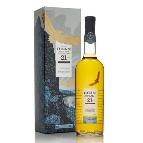 Oban 21 Year Old 2018 Release