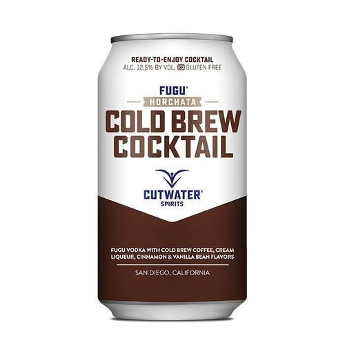 Fugu Horchata Cold Brew  (4 Pack - 12 Ounce Cans)