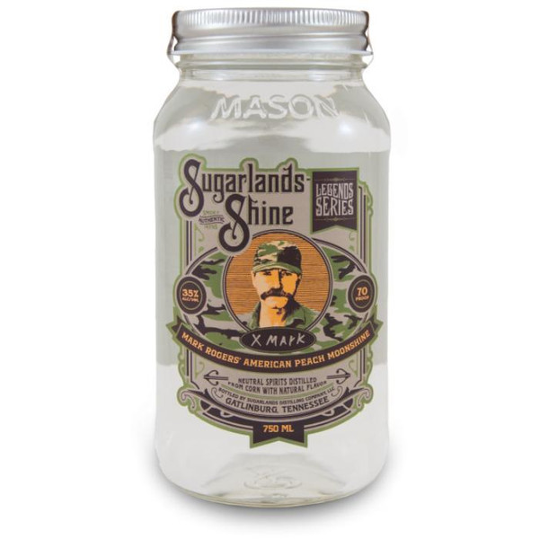 Sugarlands Mark Rogers' American Peach Moonshine