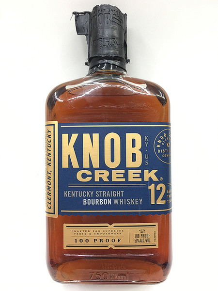 Buy Knob Creek 12 year Bourbon at sudsandspirits.com